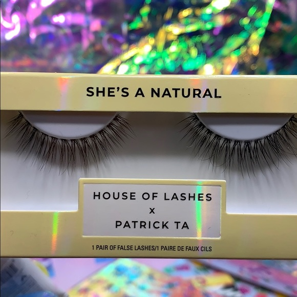 House of Lashes Other - NWT Patrick Ta X HOL She's a Natural lashes SEALED